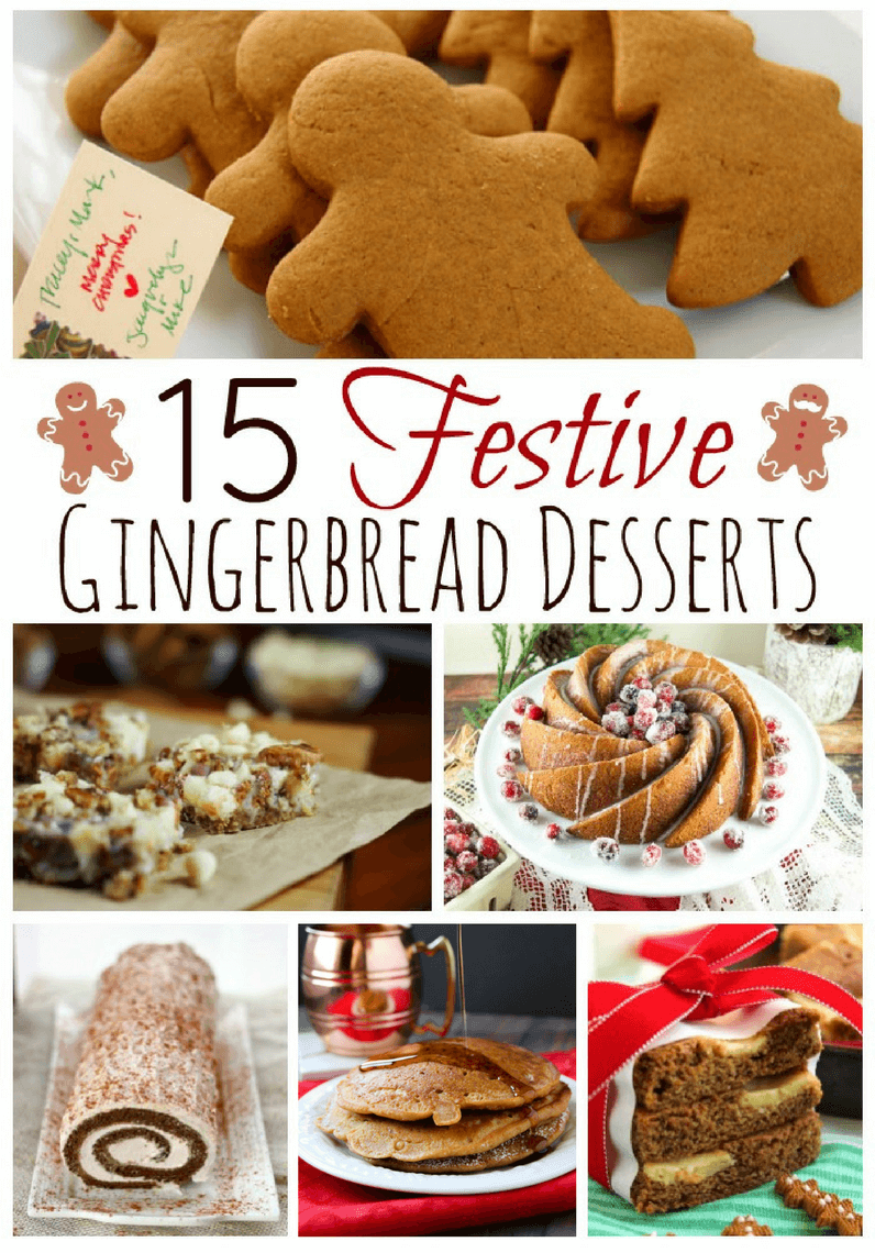 15 Festive Gingerbread Dessert Recipes to Make This Christmas