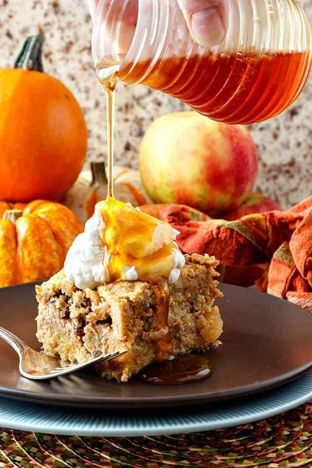Apple Cider Donut French Toast Casserole