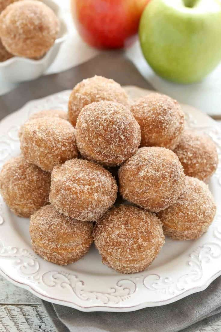 Baked Apple Cider Donuts Holes