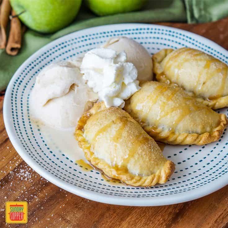 Caramel Apple Empanadas