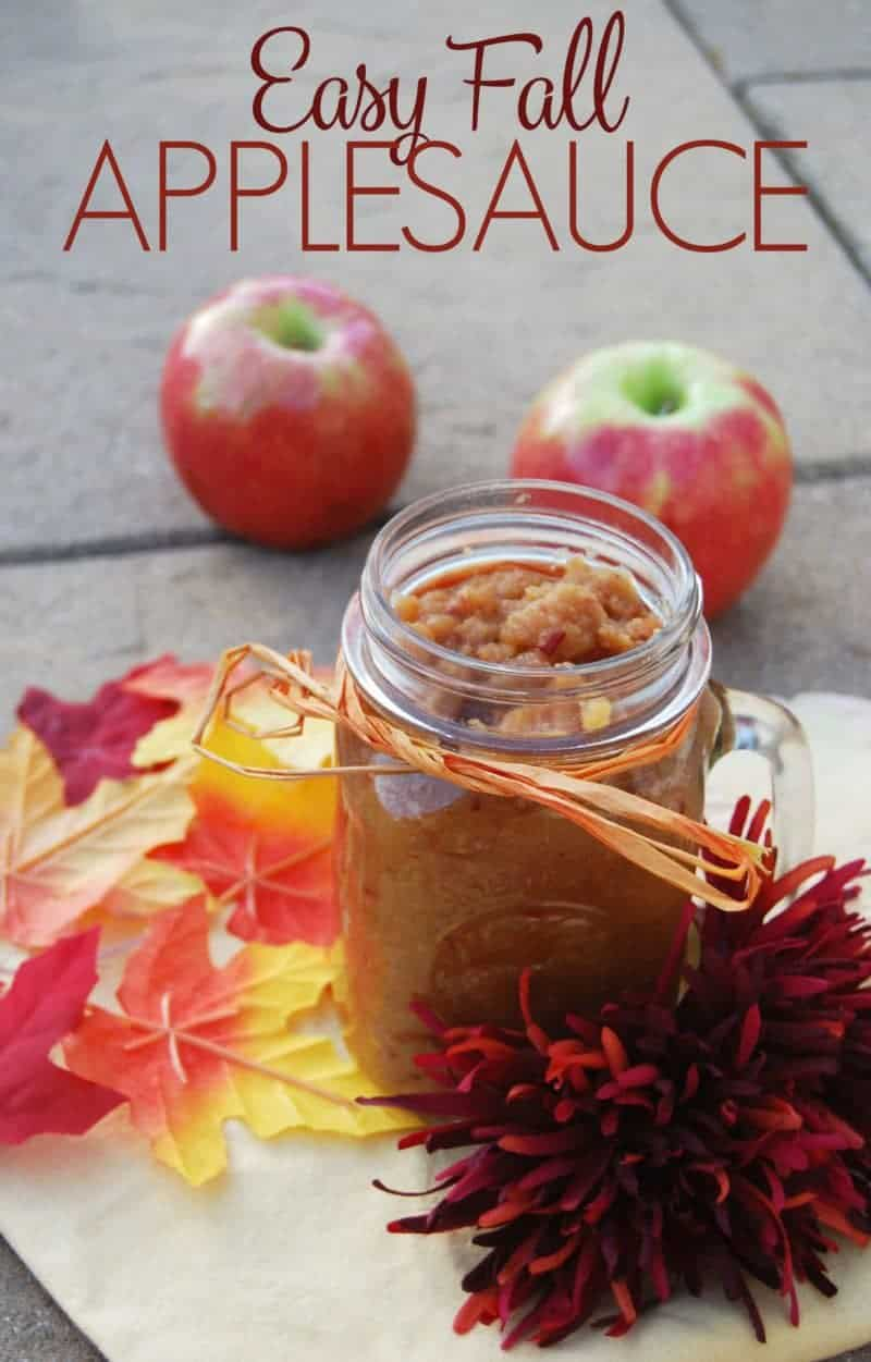 Easy Fall Applesauce Recipe