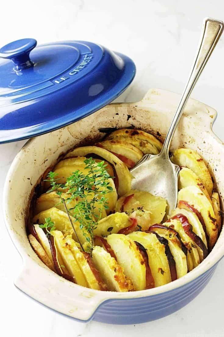 Sweet Potato-Apple Casserole