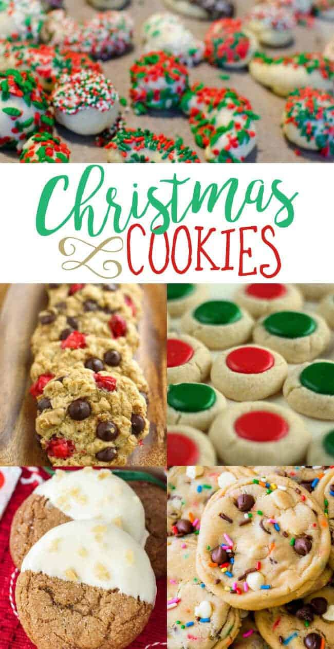 This post is for all of you who love to bake Christmas Cookies! I scoured the recipes on the web to find the very best Christmas cookie recipes.