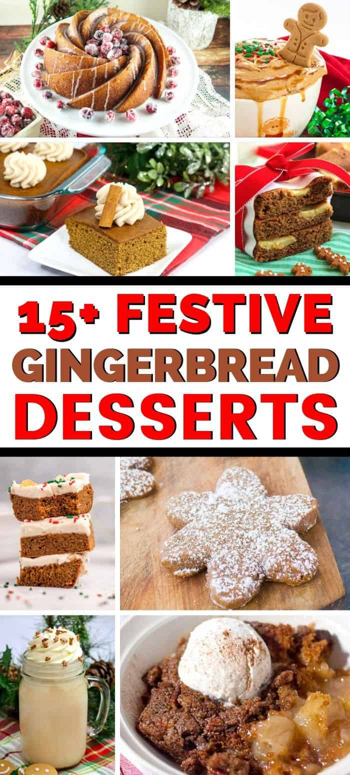Festive Gingerbread Desserts