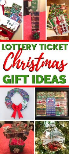 Lottery Ticket Gift Ideas PIN