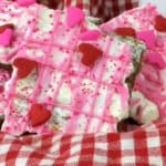 White Chocolate Valentine's Day Bark Candy (aka Valentine's Crack)