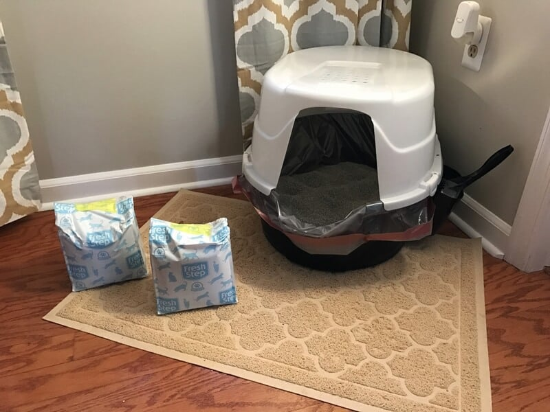 Convenient Fresh Step Cat Litter Compact Packs
