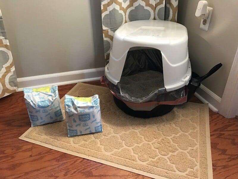 Convenient Fresh Step Cat Litter Compact Packs