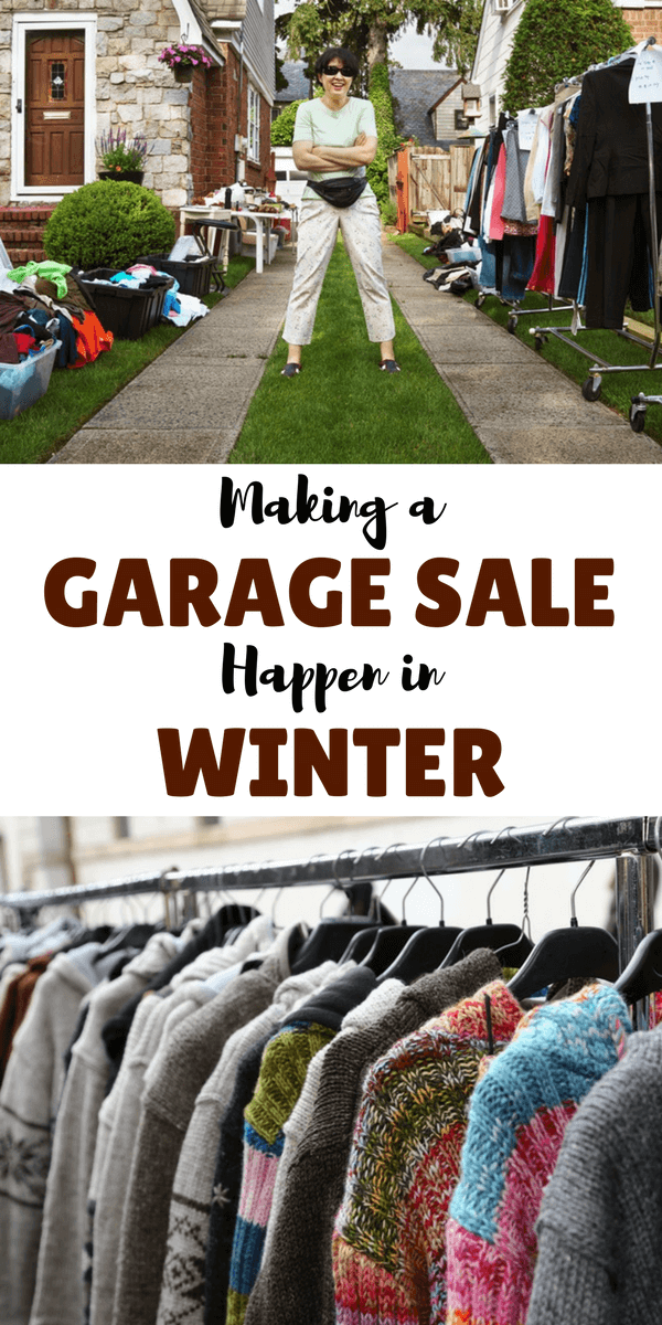 Garage sales are a great way to clear out clutter and earn some money. Here are some ways that you can make a garage sale a slam-dunk, even in the winter.