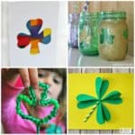 Fun and Festive Shamrock Crafts for Kids to Make this St. Patrick's Day