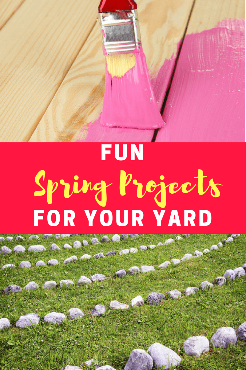 In honor of the spring season, here are 3 great spring projects for your yard that will get you playing and working outdoors all summer long.