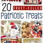 20 Patriotic Recipes With Fruit Perfect for 4th of July