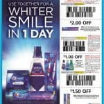 Stock up on Crest Toothpaste With $2 off Coupon at Walmart and Target