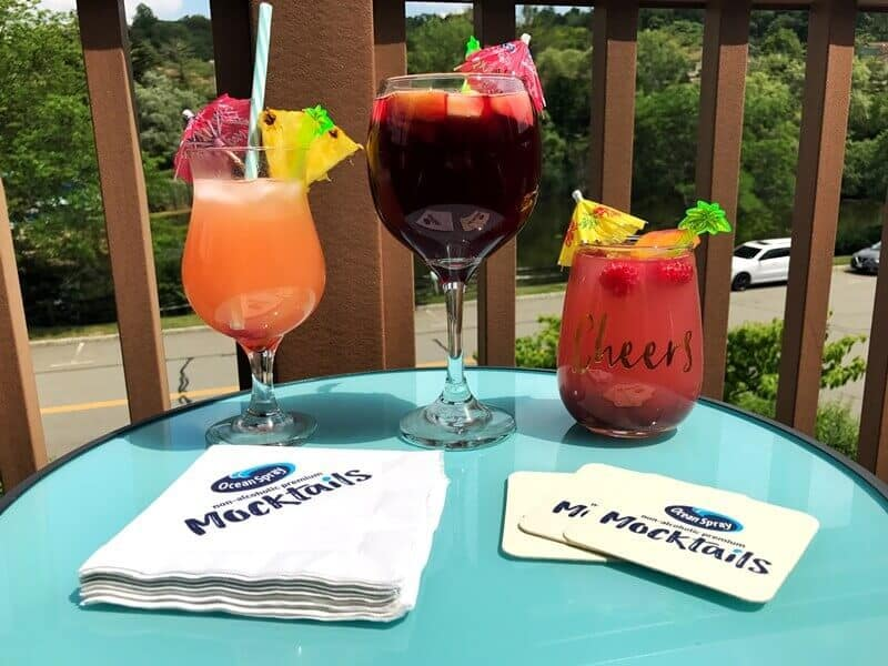 Ocean Spray Mocktails