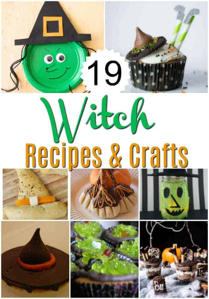 Looking for Halloween party ideas? These 19 witch recipes and crafts are perfect for your Halloween bash or to enjoy at home with your family.