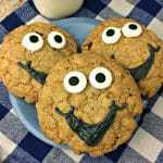 Crazy Adorable Chocolate Chip Monster Cookie Monsters