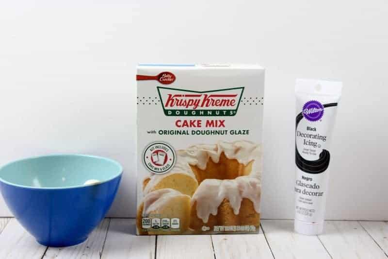 Super Easy Ghost Halloween Doughnuts Ingredients