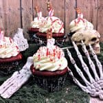 Bloody Cupcakes – Perfect for Halloween, Walking Dead, or Zombie Party
