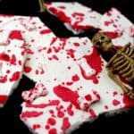 Bloody Good Halloween Bones Bark