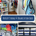 Nursery Storage and Organization Ideas