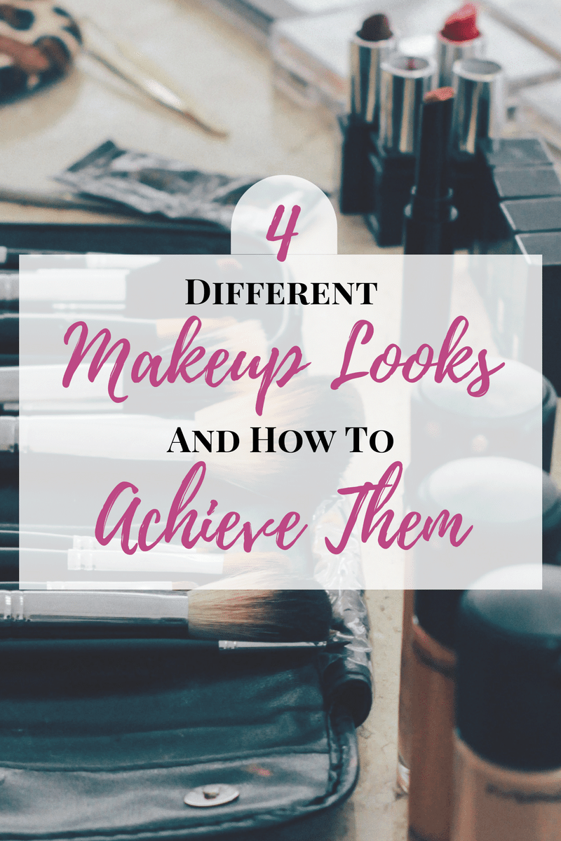 Here are four different makeup looks and how to achieve them, even if you don't have a single artistic bone in your body.