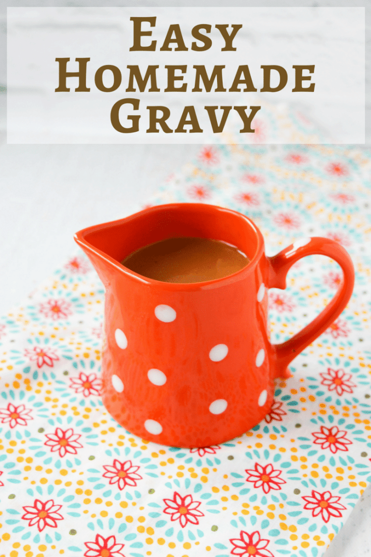 How often do you open a jar to get your gravy? It's something we all do, but making homemade gravy is so much easier than you realize. Tastes better too!