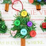 DIY Christmas Tree Ornament Craft