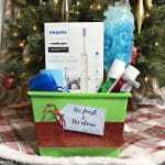 """So Fresh and So Clean"" DIY Gift Basket For Him With Printable Gift Tag"
