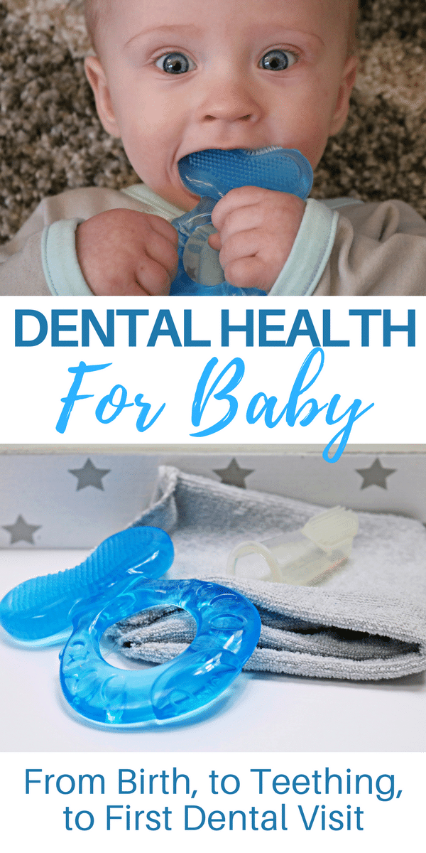 I am sharing the information on dental health for babies that I learned with other new and expecting parents, so that they can be best prepared to safely care for their babies gums and teeth.