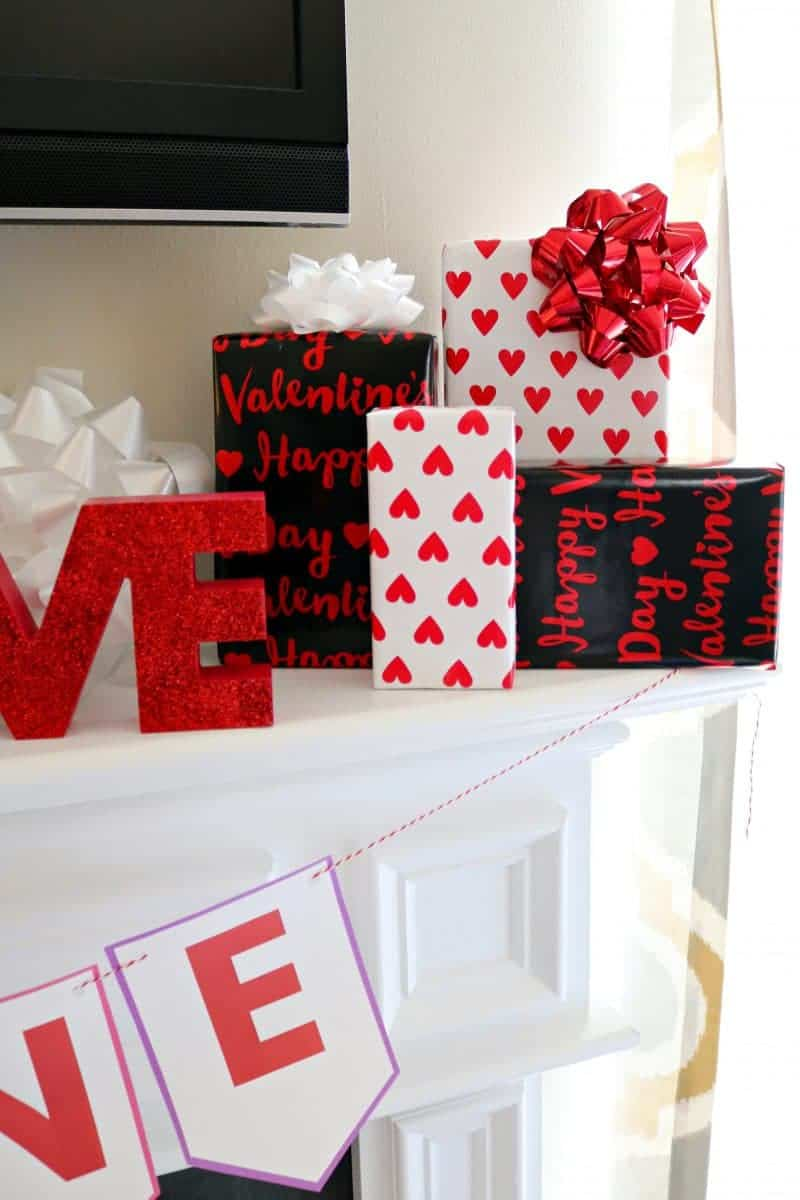 Be Mine Diy Valentine Banner Free Printable For Valentine S Day