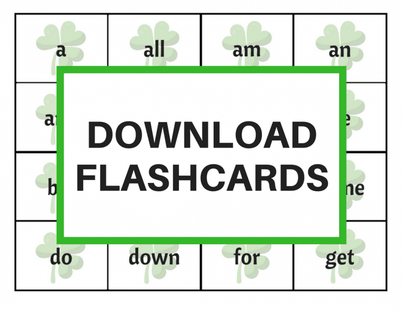 image about St Patrick's Day Bingo Printable named St. Patricks Working day Bingo with Sight Terms Absolutely free Printable
