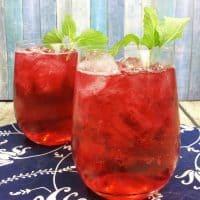 Iced Passion Fruit Tea Lemonade