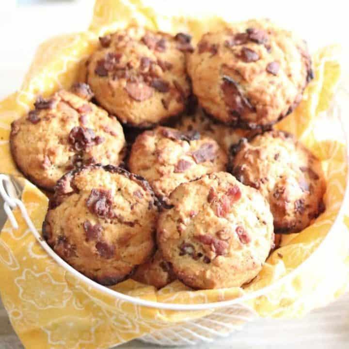 Savory Bacon Muffins