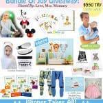 Bundle of Joy Giveaway -$350 in Prizes (4/15 US)
