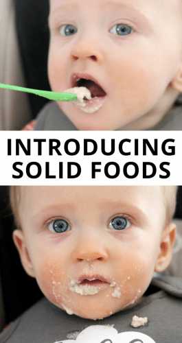 If you are considering introducing solid foods to baby you probably have many questions. From knowing when baby is ready to start solids to what food to introduce baby to first, this post will cover what you need to know when it comes to baby starting solid foods.
