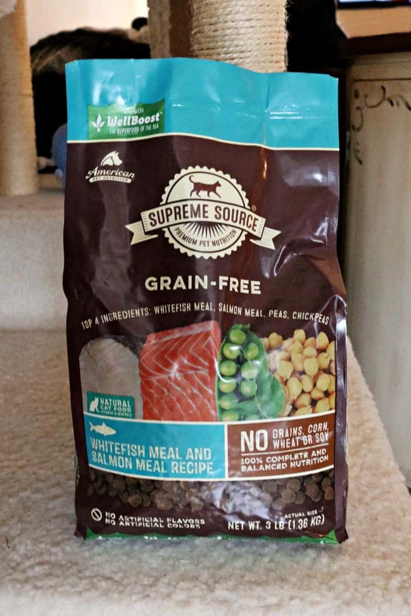 We care about what we put in our bodies, but what about our cats?! That is why we are starting our girls on a 10-Day Cat Detox with Supreme Source®, a premium grain-free cat food packed with healthy ingredients which will help them clean out any toxins that have been building up in their systems.