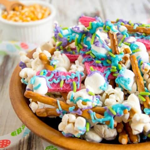 Bunny bait snack mix is the perfect Easter treat for kids and adults alike. Plus, don't forget to leave some out for the Easter bunny!
