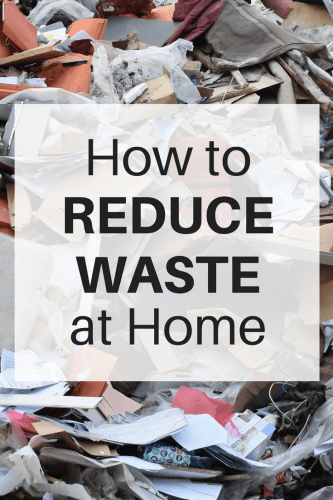 Whether you want to reduce waste to save money or to help save the environment, these 4 ways to reduce waste at home are a great place to start. Make these changes and your family will be well on their way to cutting down on waste.