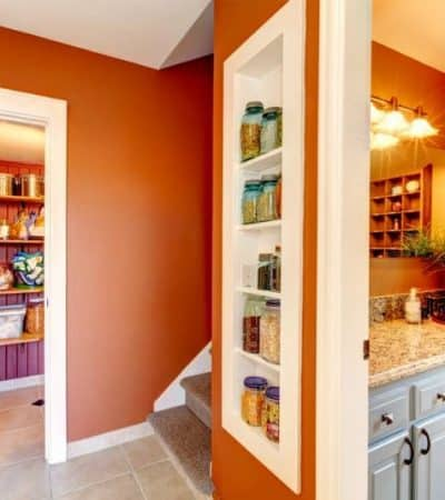 These 7 storage ideas for small spaces will help you to organize your home by making the most of the space that you have available.
