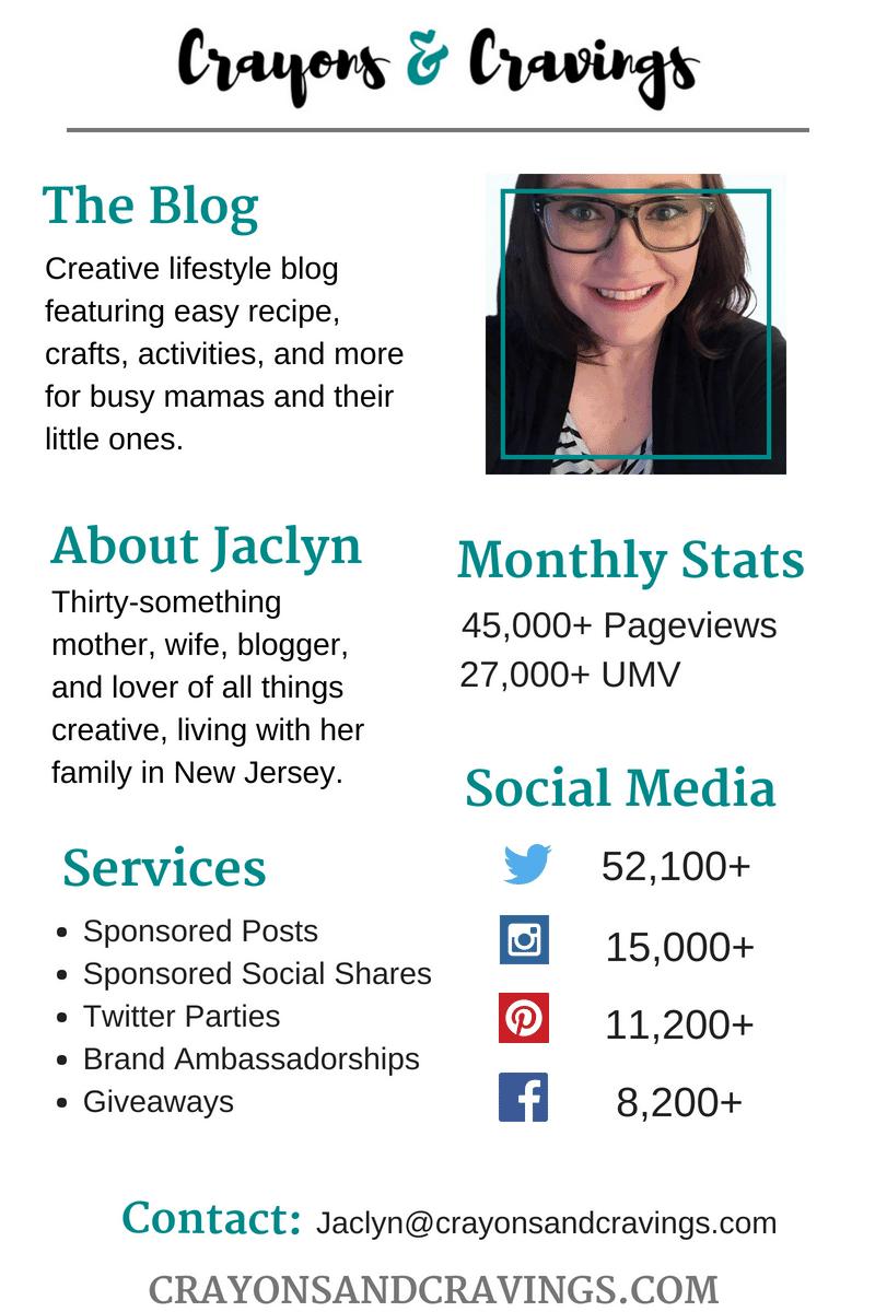 Blogger Social Media Influencer Media Kit