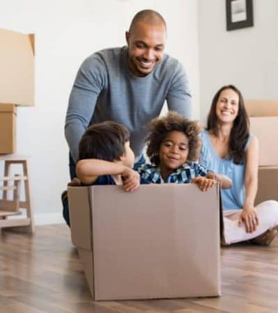 Moving with kids can seem daunting, but there are a number of things that you can do to make the transition smoother and easier on them.