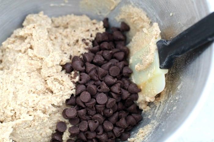 Cookie Dough Pumpkin Pops In Process