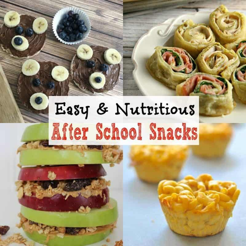Easy after school snacks that the kids will love. These 26 nutritious after school snack recipes will keep the kids full and satisfied until dinnertime.