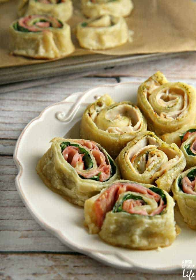 puff pastry snack roll ups