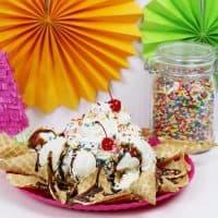 Ice Cream Sundae Nachos