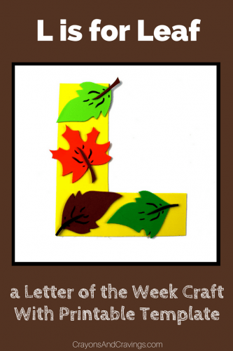 This letter L craft with printable template is part of our letter of the week craft series, designed to foster letter recognition in preschoolers.