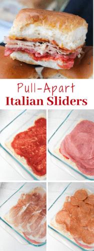 Pull Apart Italian Sliders