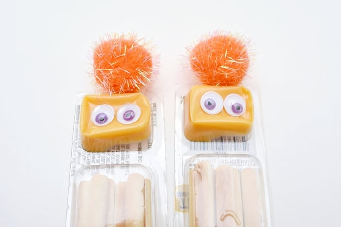 How to Make Monster Cheese and Crackers