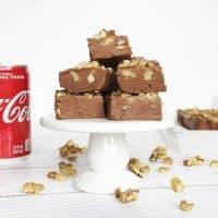 Coca-Cola Fudge with Walnuts