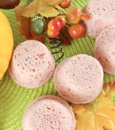 Slip into a bath scented like pumpkin pie with these easy homemade pumpkin spice bath bombs.